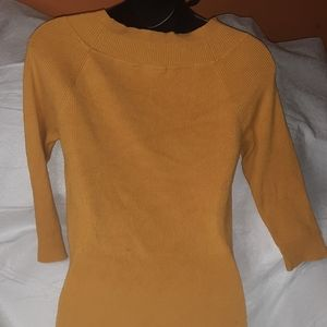 Cato Shirts & Tops - Cato yellow half sleeve size M